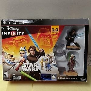 PS3 Disney infinity star wars game 3.0 edition